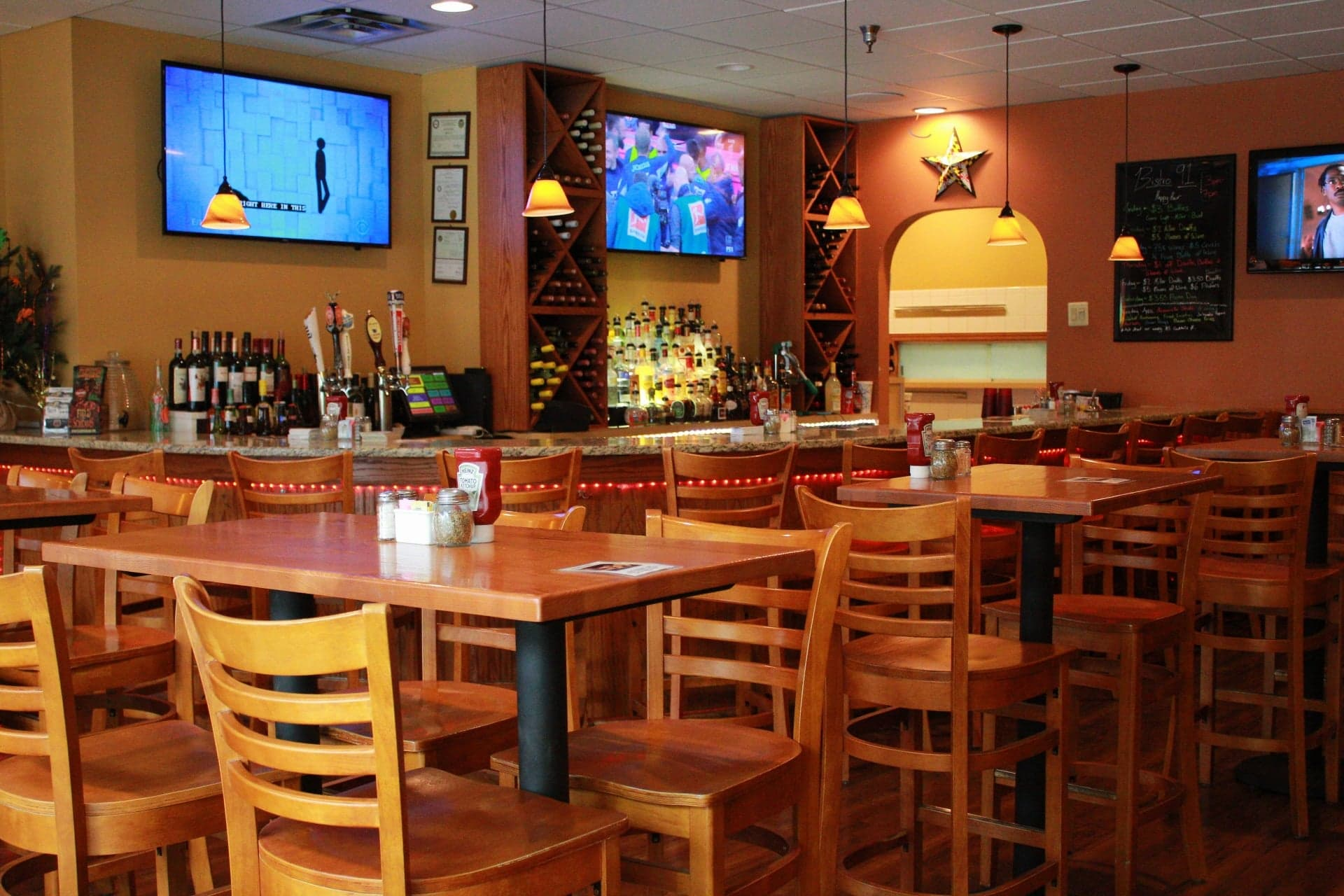 Come in and enjoy our casual, comfortable environment.